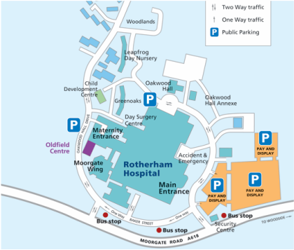How to find us Rotherham Medical Education Centre