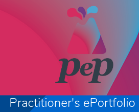 Links to information about the Practitioner's ePortfolio (PEP)